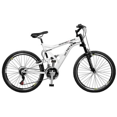 Bicicleta com Suspensão Alta